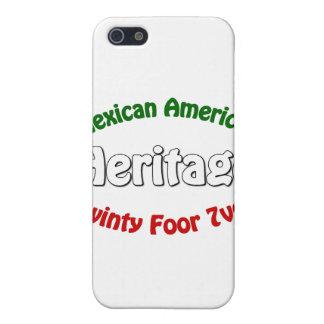 Herencia mexicana-americano iPhone 5 funda