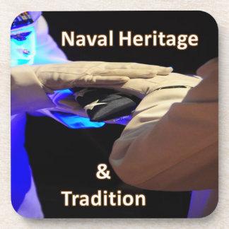 Herencia naval posavasos