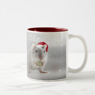 Here's a little Christmas gift for you xxx Two-Tone Coffee Mug