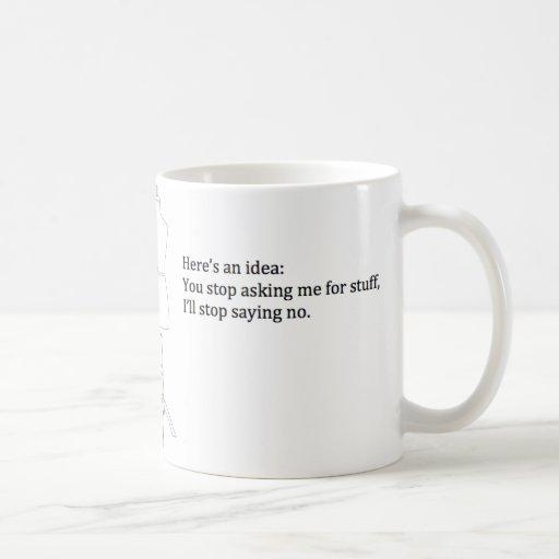 """Here's an Idea"" Mug"