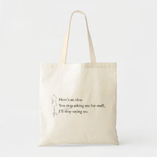 """Here's an Idea"" Tote"