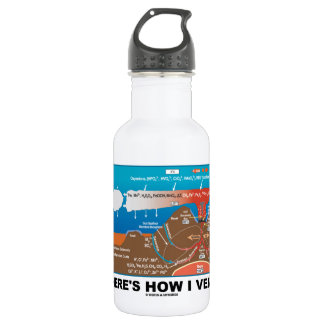 Here's How I Vent (Deep Sea Vent Chemistry) Water Bottle