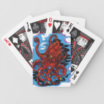Here's ink in your eye bicycle playing cards