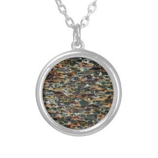 Here's Lookin' at Ya! Round Pendant Necklace