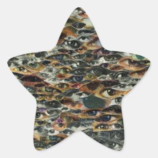 Here's Lookin' at Ya! Star Sticker