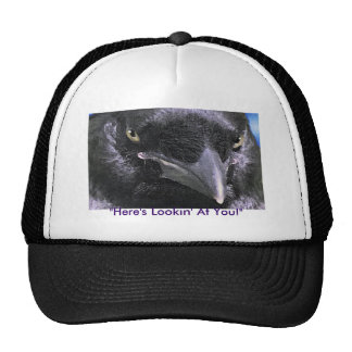 """HERE'S LOOKIN' AT YOU!"" Cap Trucker Hat"