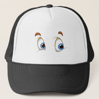 Here's Looking at You Blue Eyes Trucker Hat