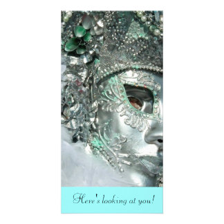 Here's looking at you! card