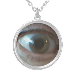 Here's Looking at you Kid Round Necklace