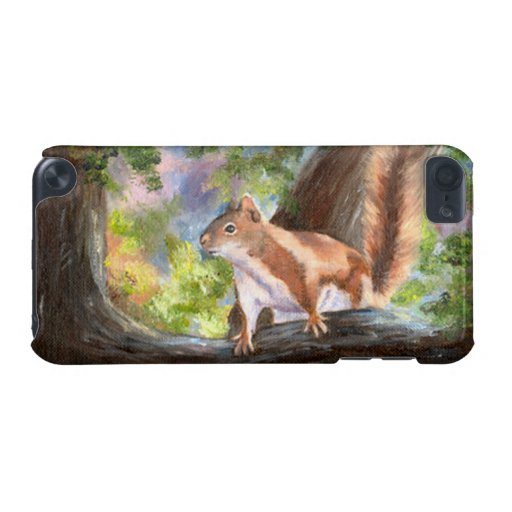 Here's Looking At You Squirrel IPod Touch Case