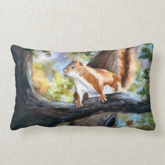 Here's Looking At You Squirrel Pillow