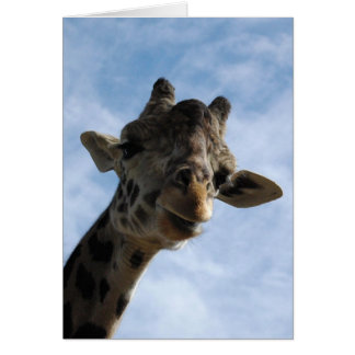 Here's looking at you! stationery note card