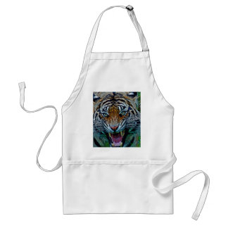 Here's Looking At You Tiger Adult Apron