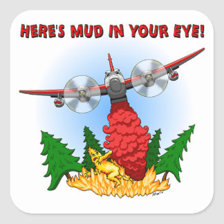 Here's Mud in Your Eye! Stickers