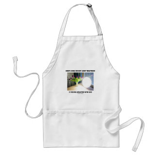 Here's Some Bright Light Treatment Afflicted SAD Adult Apron