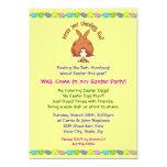 Heres sus invitaciones de Pascua del chocolate Invitacion Personalizada