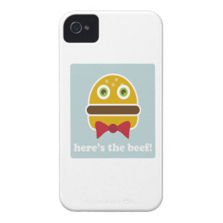 Here's The Beef! iPhone 4 Case-Mate Case