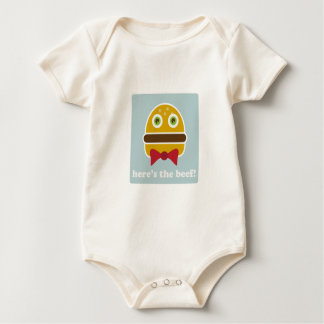 Here's The Beef! Baby Bodysuits