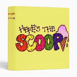 Here's the Scoop Binder