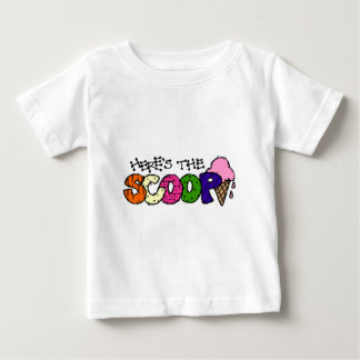 Here's the Scoop Infant T-shirt