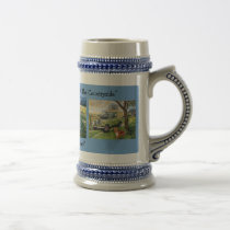 """Here's To The Hills & Valleys Of The Countryside"" Beer Stein"