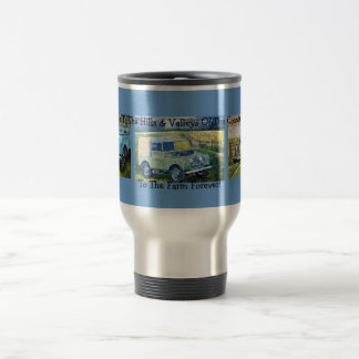 """Here's To The Hills & Valleys Of The Countryside"" Travel Mug"