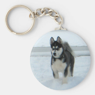 Here's Trouble Key Chain