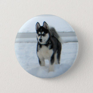 Here's Trouble Pinback Button