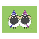 Here's Two Ewe Congratulations Postcard