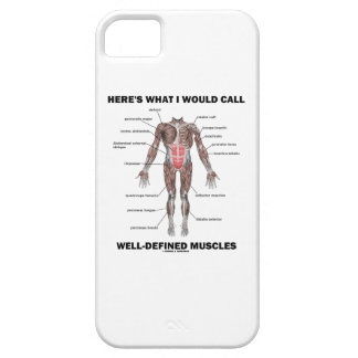 Here's What I Would Call Well-Defined Muscles iPhone 5 Cases