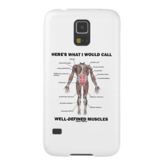 Here's What I Would Call Well-Defined Muscles Galaxy S5 Case