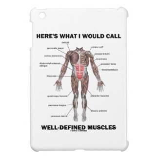 Here's What I Would Call Well-Defined Muscles iPad Mini Case