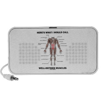 Here's What I Would Call Well-Defined Muscles Portable Speaker