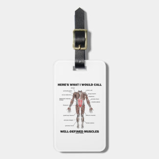 Here's What I Would Call Well-Defined Muscles Tag For Bags
