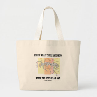Here's What You're Squishing When You Step On Ant Canvas Bag