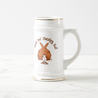 Here's your chocolate Beer Stein 18 Oz Beer Stein