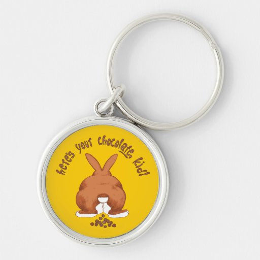 Here's your chocolate Keychain