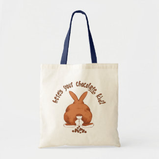 Here's Your Chocolate, Kid Budget Tote Bag