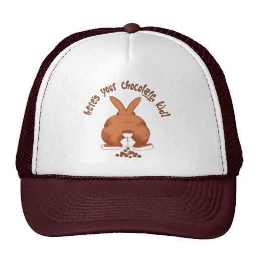 Here's your chocolate, kid Hat