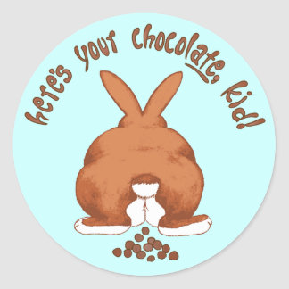 Here's your chocolate Sticker