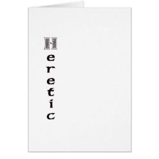 Heretic Card