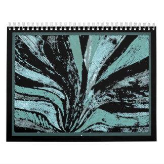 (heretofore) alanart abstract art/design calendar