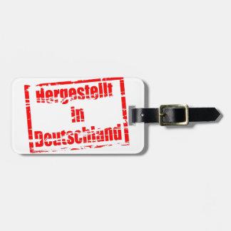 Hergestellt in Deutschland - Made in Germany Luggage Tag