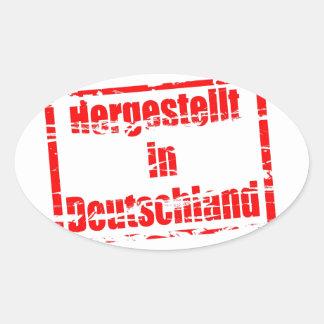 Hergestellt in Deutschland - Made in Germany Stickers