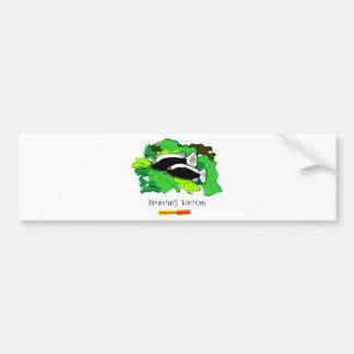 Herichthys bartoni car bumper sticker