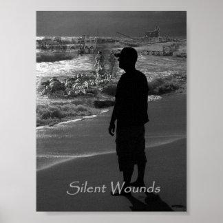 Heridas silenciosas póster
