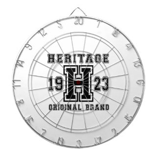 HERITAGE 1923 ORIGINAL BRAND BIRTHDAY DESIGNS DART BOARD