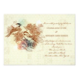 Heritage Birds Invitation