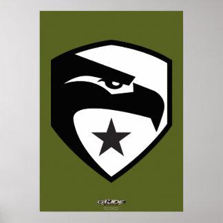 Heritage Black Eagle Poster