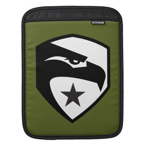 Heritage Black Eagle Sleeve For iPads